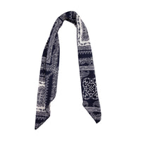 Square Blue White Bandana Scarf - link has visual effect only