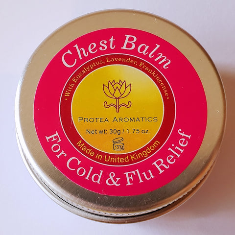 Chest Balm - For Cough, Cold & Flu | 舒緩感冒軟膏