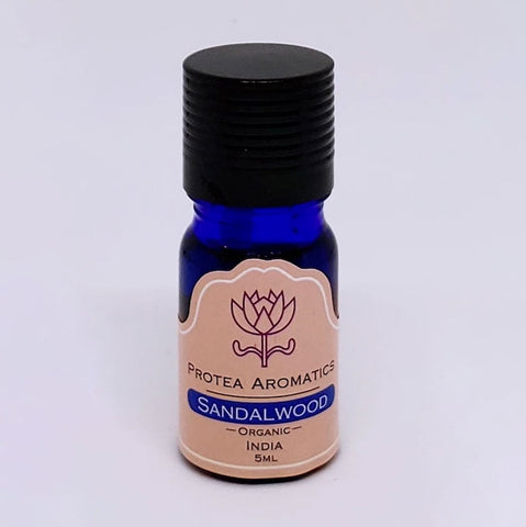 Sandalwood Organic Essential Oil | 有機檀香精油