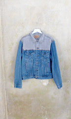 Two Tone Levis Denim Jacket - MENS