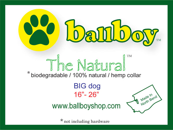 The Natural Collar - Green Planet Pet Products - Dog Collar - 3