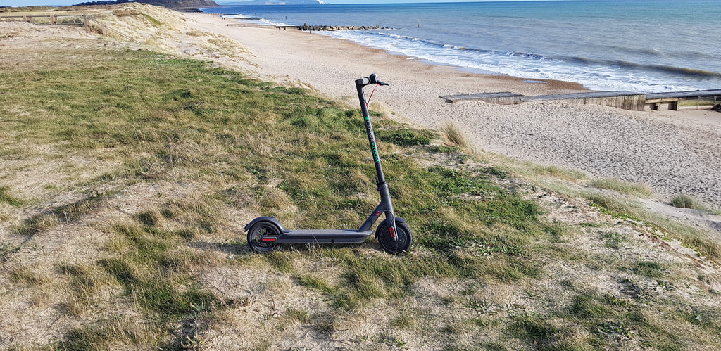 Can riding an electric scooter help keep you fit image