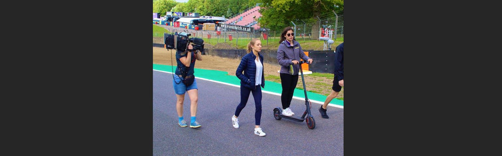 How an Electric Scooter makes Race Days and Track Days Easier