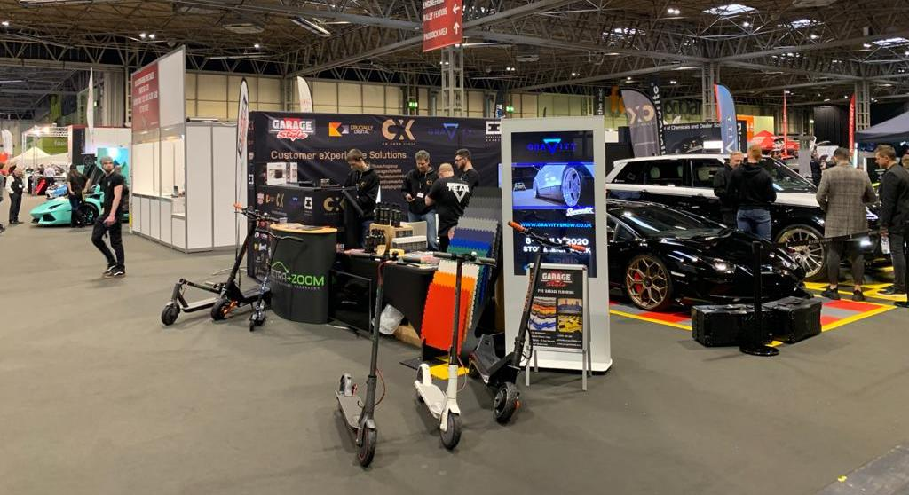 ElectraZoom Electric Scooters Attend Autosport International 2020 Image