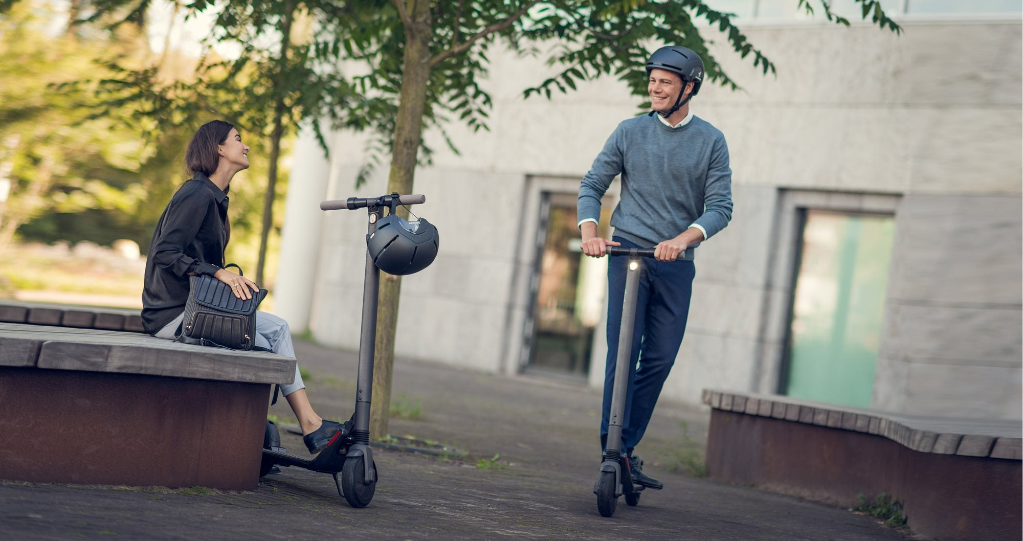 Ninebot ES2 Scooters from UK Supplier Electrazoom