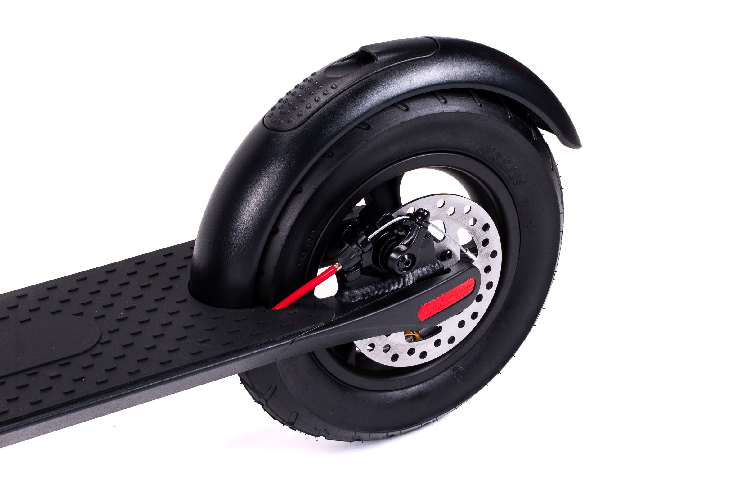 Decent X7 Electric Scooter Rear 10 Inch Wheel Image