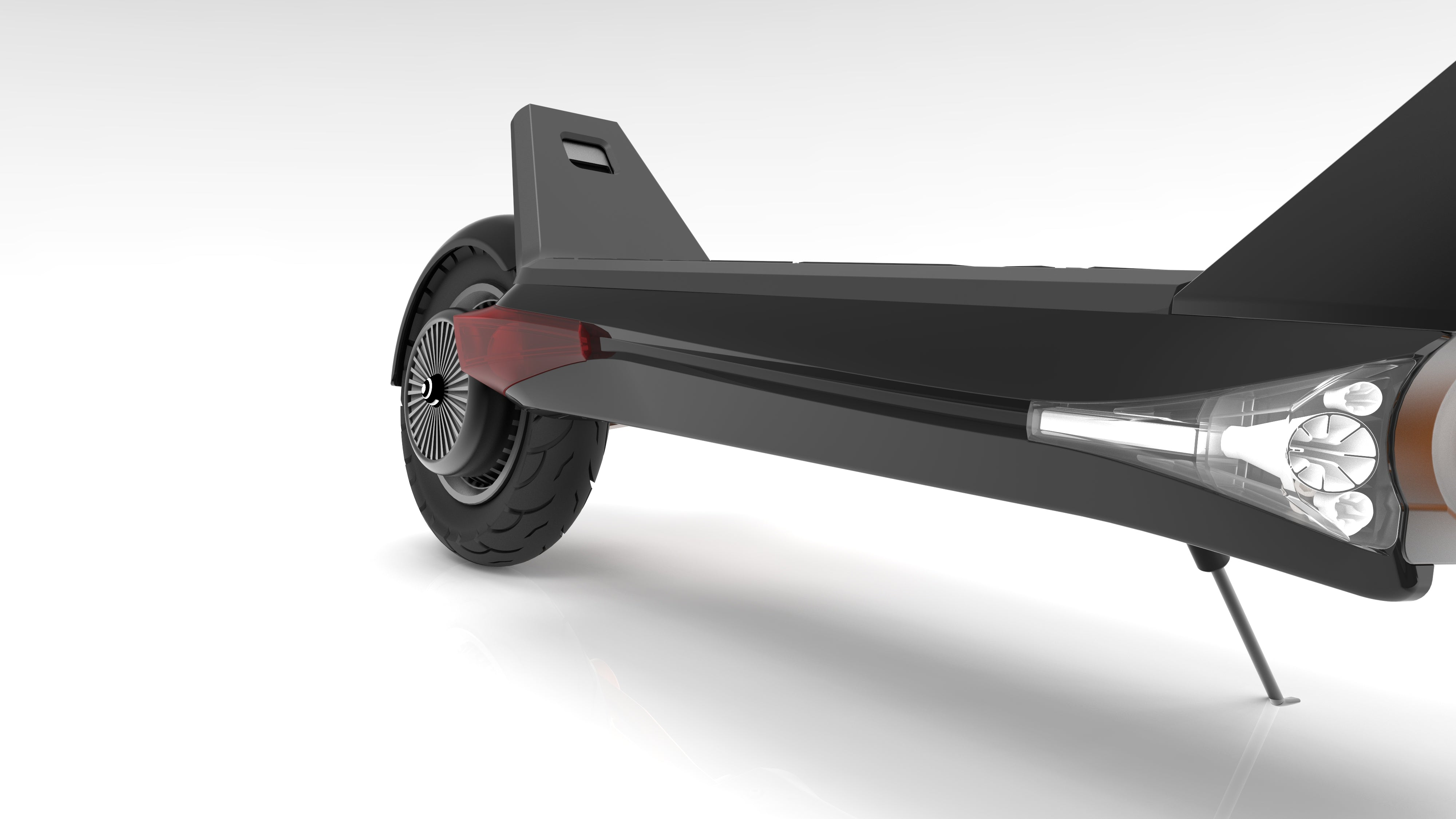 Inokim OXO Electric Scooter Foot Deck Image