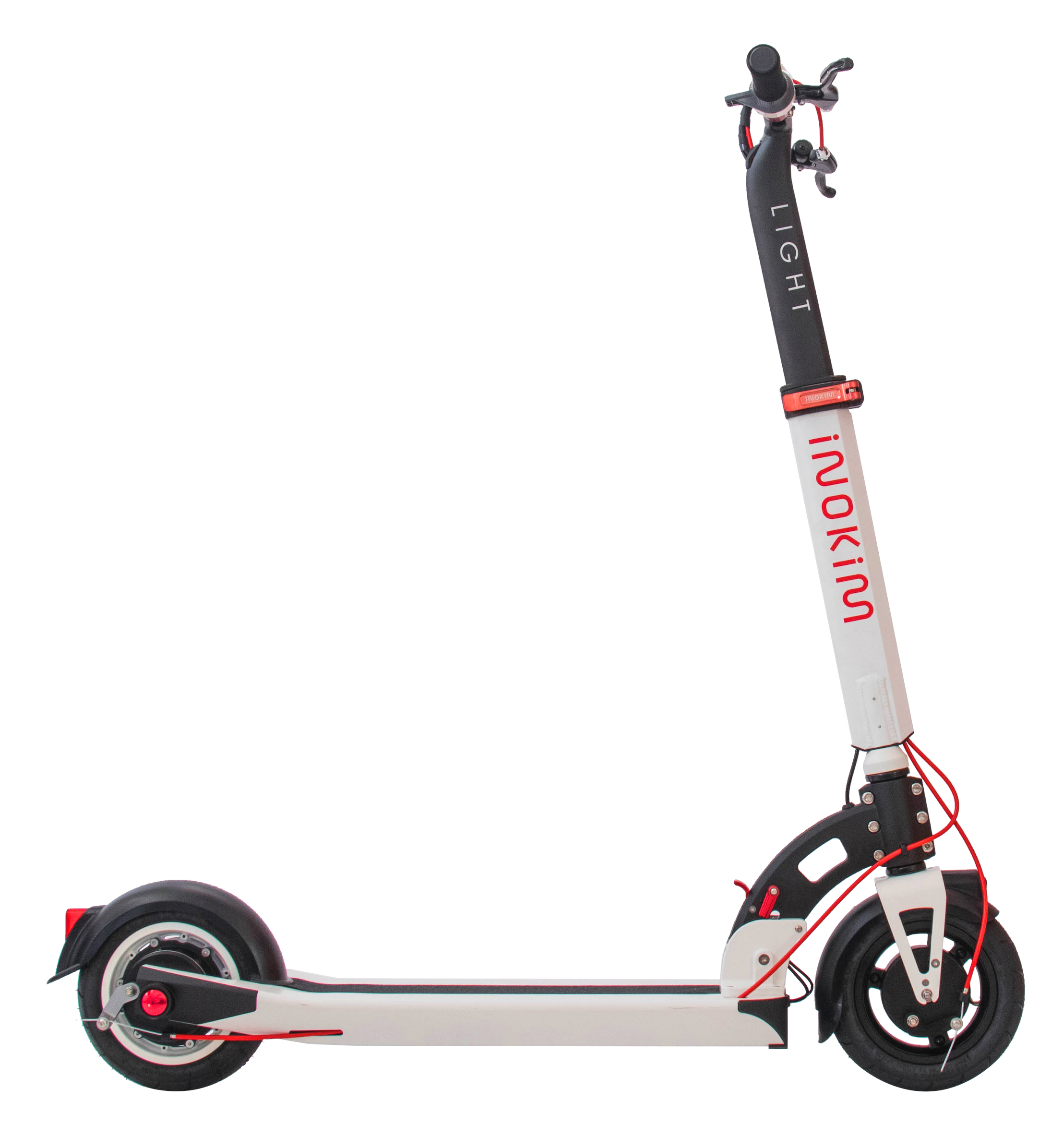 White Inokim Light 2 Electric Scooter Side View
