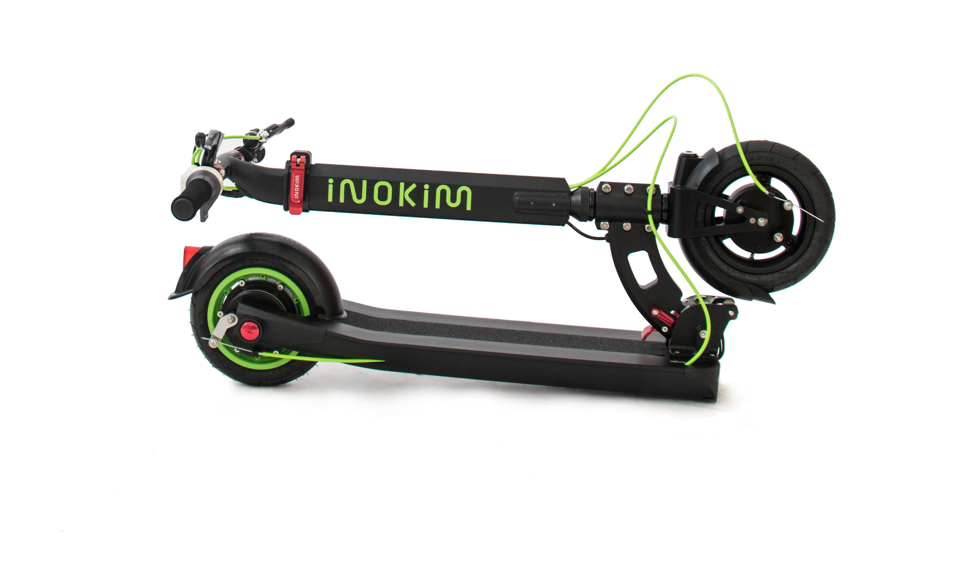 Inokim Light 2 Electric Scooter Folding Capabilities