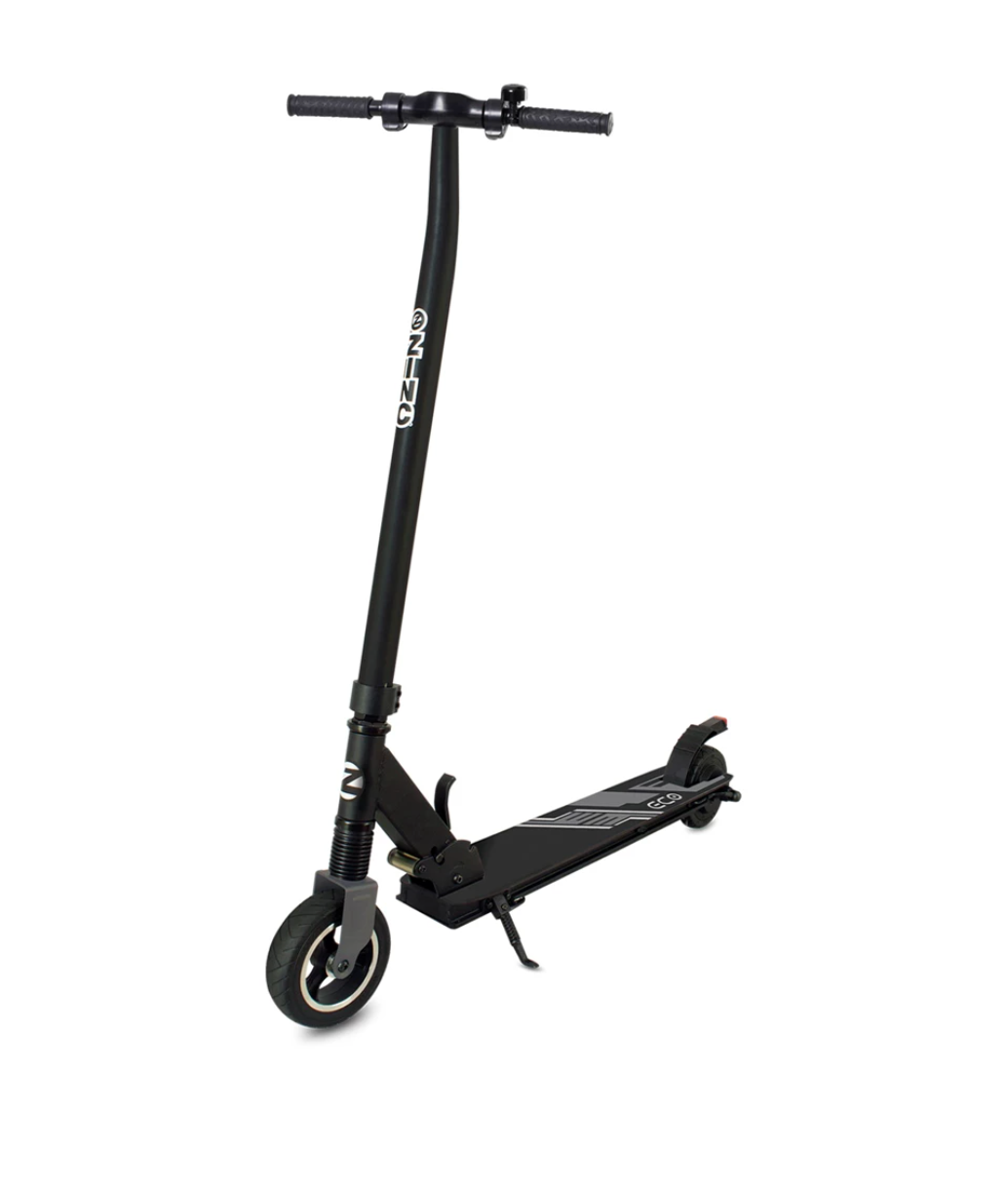 Zinc Eco Electric Scooter in Black