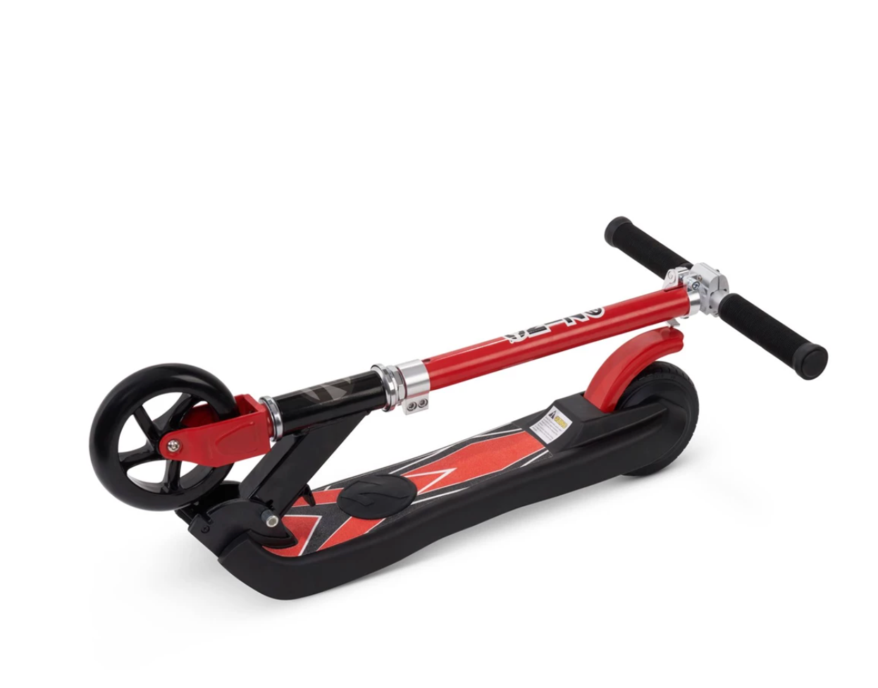 Zinc E4 Kids Electric Scooter Folded Down