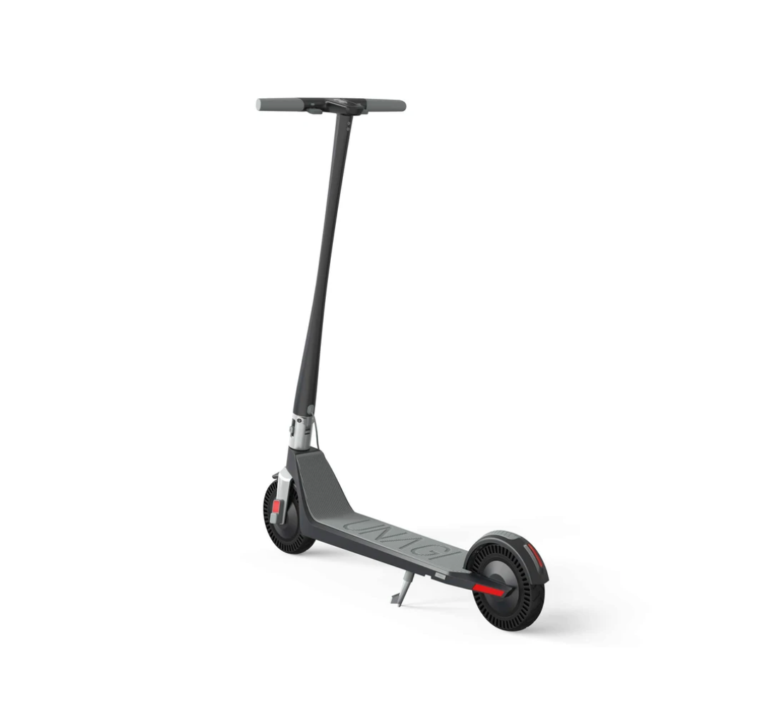 Unagi Model One E500 Electric Scooter Black Rear View