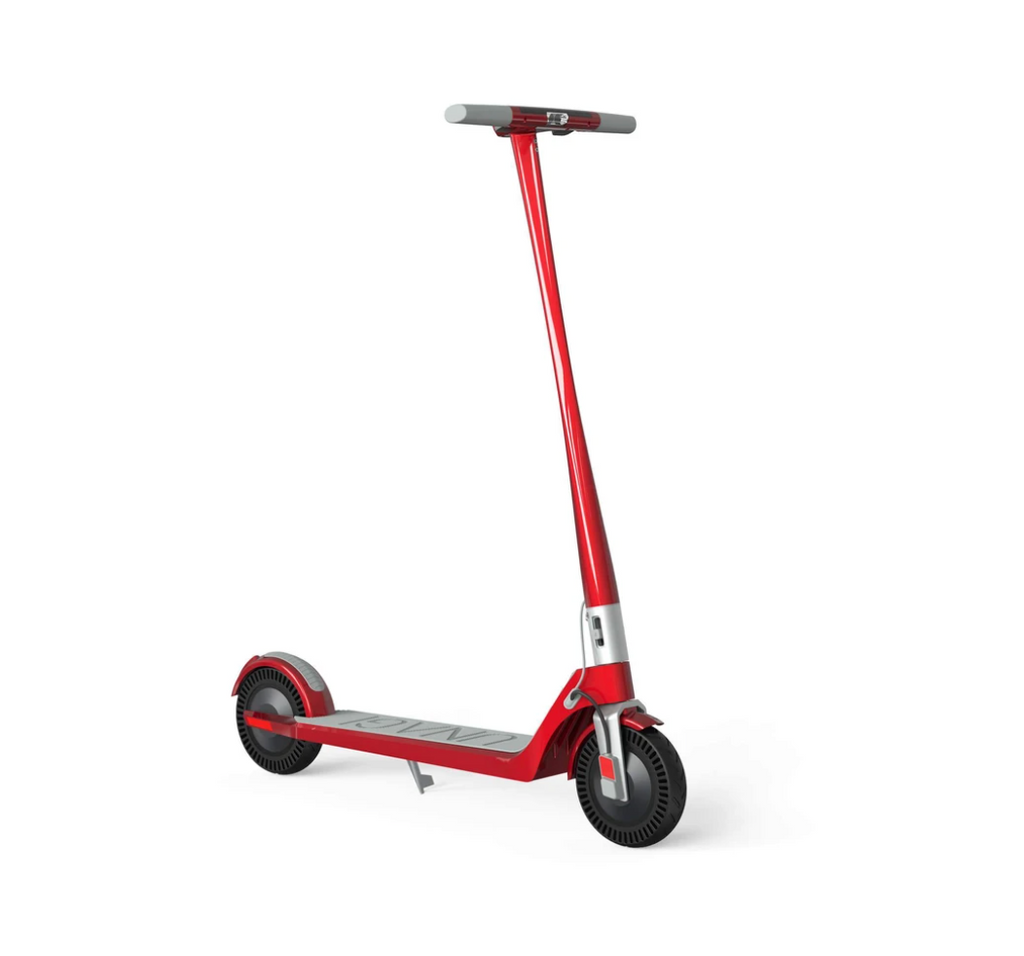 Unagi Model One E500 Electric Scooter in Red Image