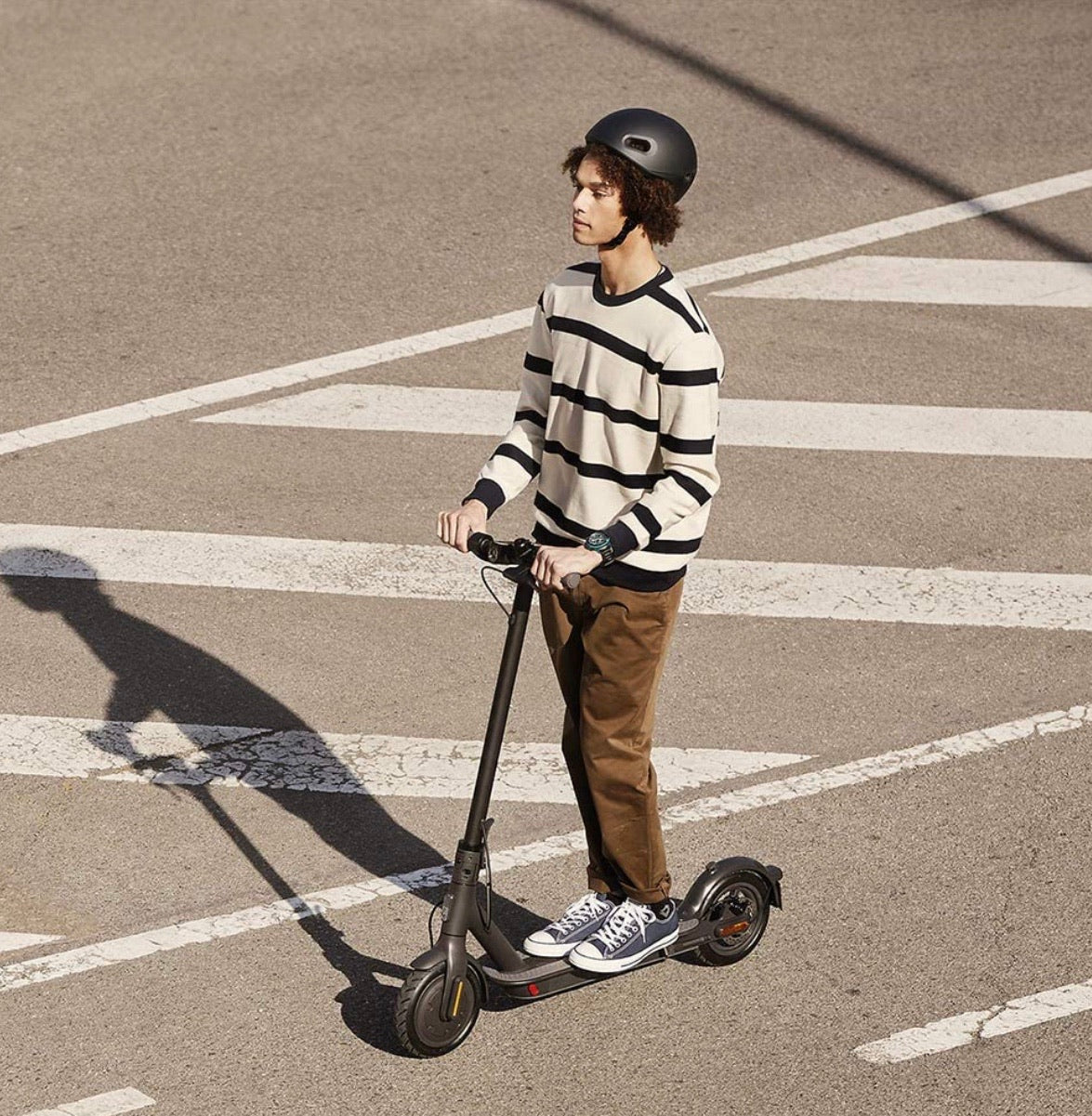Xiaomi Essential Lite Electric Scooter in Use