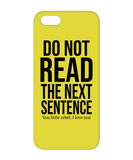 Do Not Read Funny Phone Cases