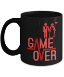 Game Over Funny Coffee Mugs