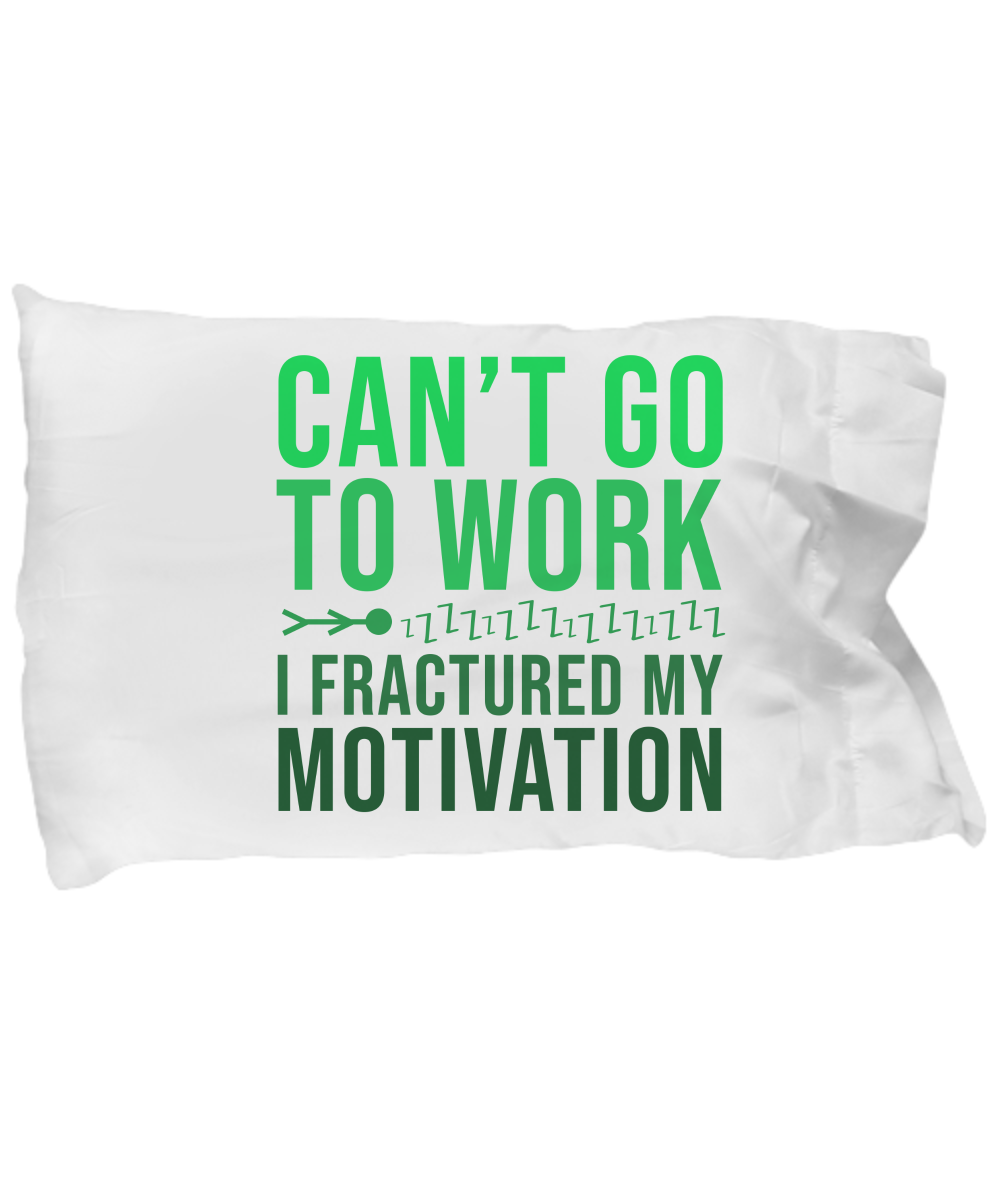 Can T Go Work Funny Pillow Cases 786 Gifts