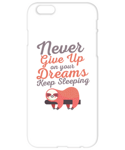 Keep Sleeping Funny Phone Cases