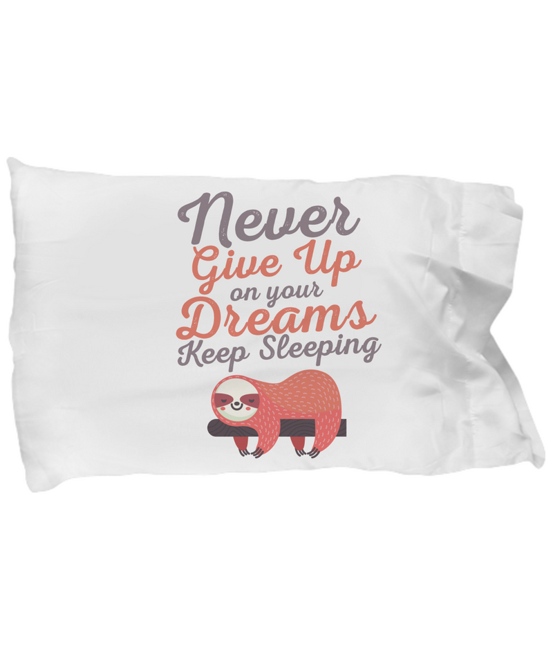 Keep Sleeping Funny Pillow Cases