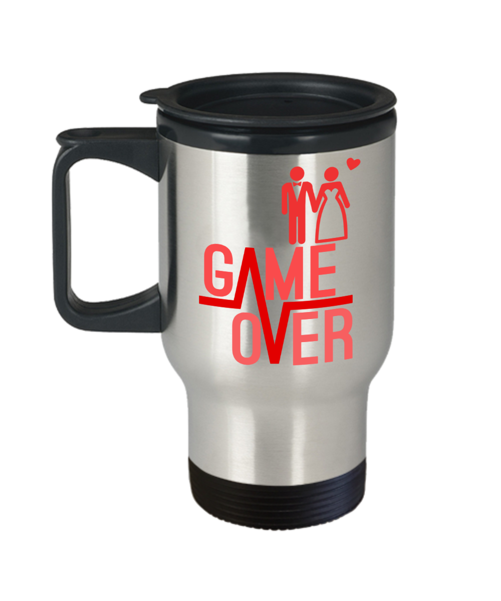 Game Over Funny Travel Mugs