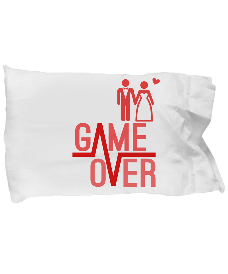 Game Over Funny Pillow Cases