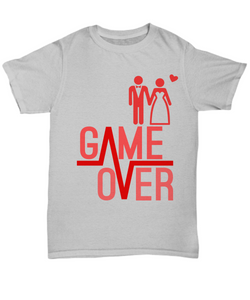 Game Over Funny Shirts