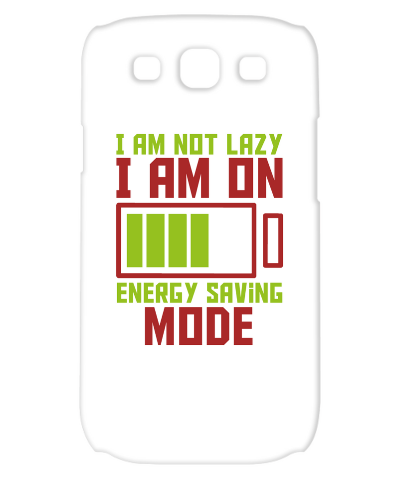 I Am Not Lazy Funny Phone Cases