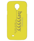 Texting Hey Funny Phone Cases