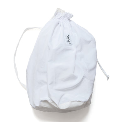 #004 Ripstop x Nylon One Shoulder Bag / White