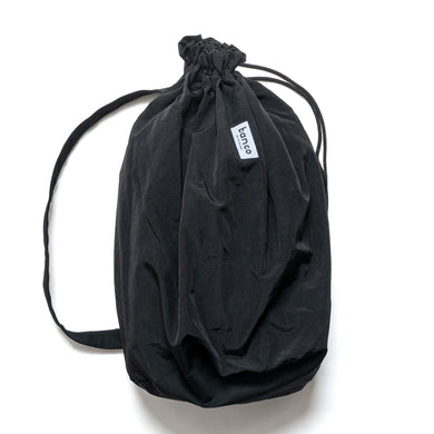 #004 Ripstop x Nylon One Shoulder Bag / Black
