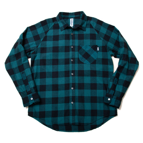 #002 Flannel Raglan Shirts