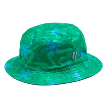 Load image into Gallery viewer, #001 Green Flower Hat