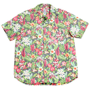 #001 Cotton Flower Shirts