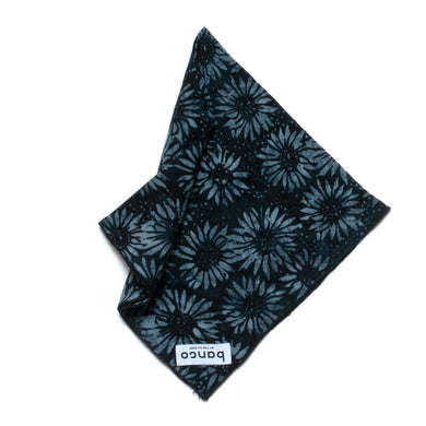 #003 Smokey Flower Bandana