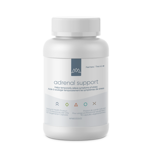 Adrenal Support is designed to be an all-in-one synergistic adrenal support formula. In just one product Adrenal Support makes it possible for the clinician to provide botanical and nutritional enhancement of adrenal cortical and medullary function, adrenal rejuvenation and increased hypothalamic receptor function. It also helps address depletions common to those suffering from the effects of chronic stress.
