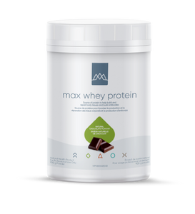 Max Whey Protein is a proprietary non-denatured whey protein concentrate that contains the full range of the fragile immune boosting and regenerative components naturally present in fresh raw milk. Max Whey Protein is minimally processed using proprietary filtration and drying.