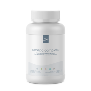 Omega Complete carries the TruTG™ seal, which means it is delivered in the form found in nature and is of superior TG potency. The TruTG™ seal guarantees a minimum 90% triglyceride-bound (TG) omega-3 fish oils, a level that is 40%-50% higher than the industry standard for most TG fish oil concentrate products.