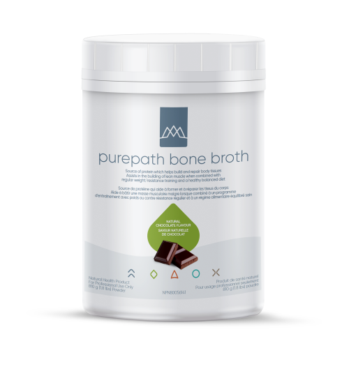 PurePath™ Protein is a nutrient-dense meal supplement with complete protein, healthy fats, a very low glycemic impact, and nutrients predominantly in their bioidentical forms. PurePath™ Protein is available in delicious chocolate and vanilla flavors, and features HydroBEEF™.