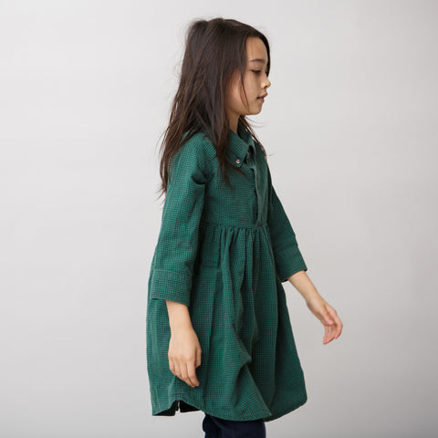 DRESS - LONG SLEEVE  SHIRT DRESS