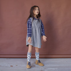 DRESS - SLEEVELESS TUNIC - FLANNEL