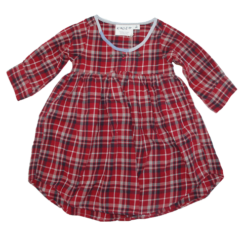 DRESS - LONG SLEEVE FLANNEL TUNIC