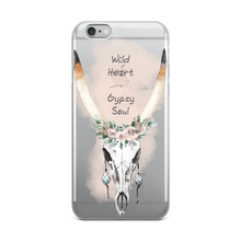 Load image into Gallery viewer, Wild Heart Gypsy Soul iPhone Case