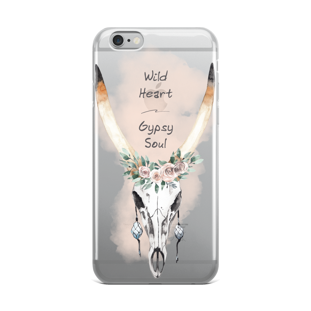 Wild Heart Gypsy Soul iPhone Case
