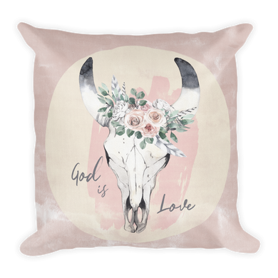 God is Love Premium Pillow