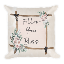 Load image into Gallery viewer, Follow Your Bliss Premium Pillow