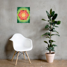 Load image into Gallery viewer, Om Mandala Poster