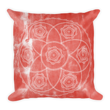Load image into Gallery viewer, Boho Flowers Premium Pillow