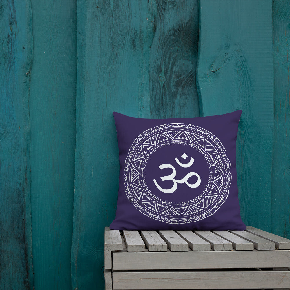 Om Mandala Premium Pillow