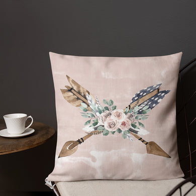 Boho Arrows Premium Pillow