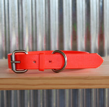 Load image into Gallery viewer, Fluro Orange Dog Collar